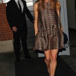 Stella McCartney firade sin kompis i ruggigt snygg klänning från sin egen design.