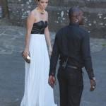 Ett liv i läder känns rätt för ett bröllop mellan Kanye och Kim, inte sant? Tjusigt med vitt och svart även om det är lite risky med vitt såklart...3 plus