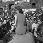 Sofia Loren at Rally del Cinema