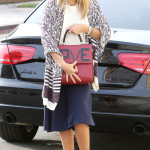 Jessica Alba meeting her family at Kova Ballet in Los Angeles***NO DAILY MAIL SALES***