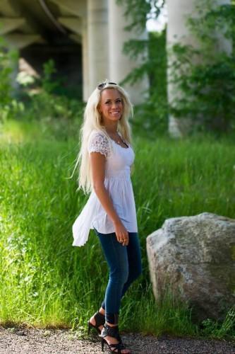 Eva-Marre Kullander Smith, ett år före mordet 11 juli 2013