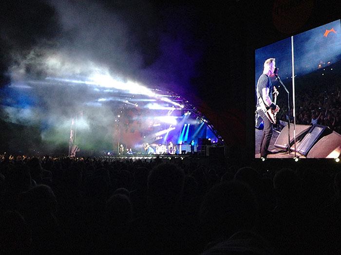 Metallica ber bloggare om ursakt