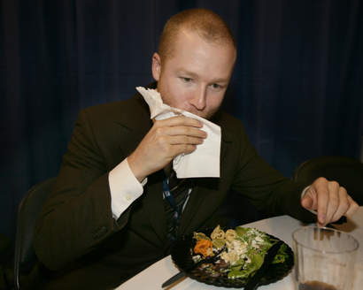 Första bilden på ätande en ätande Eken – från april 2008.