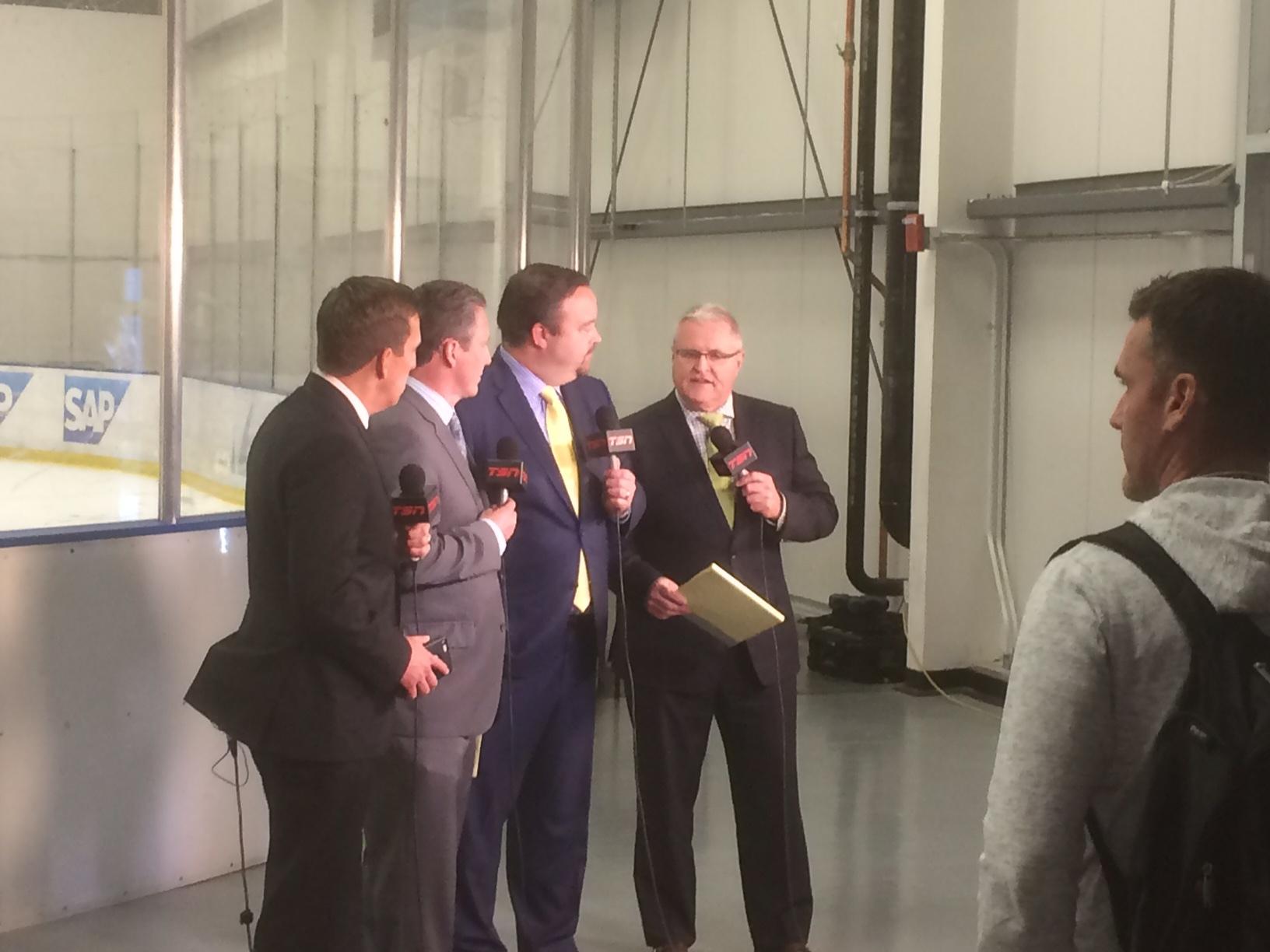 Gretzkys dreamteam spelar i finland