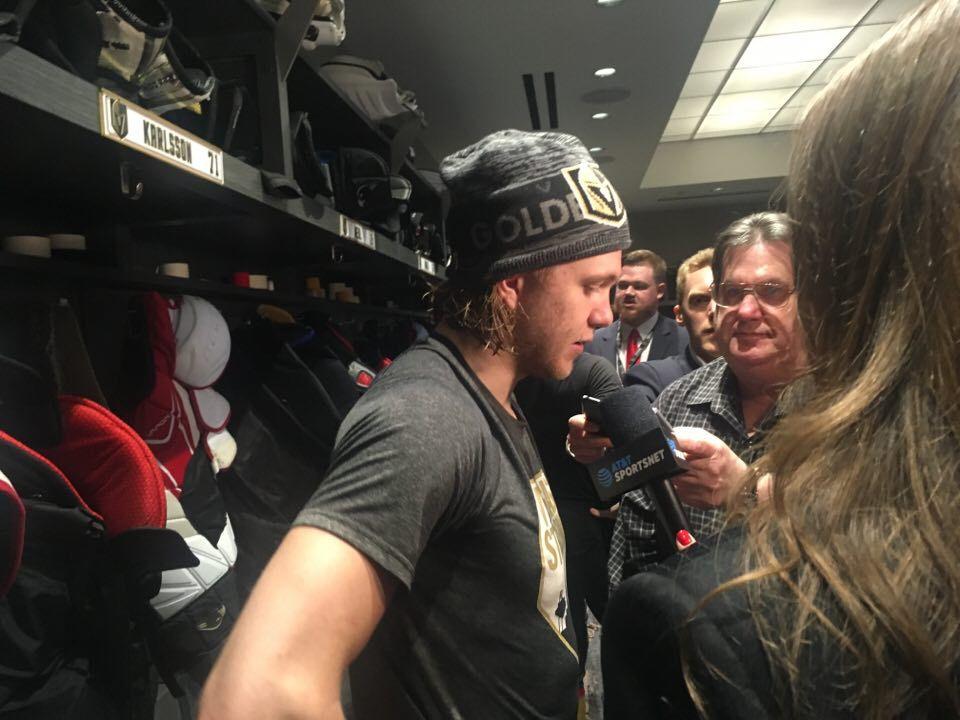 Sveriges största NHL-stjärna vintern 2018, tillika världens bästa Karlsson.