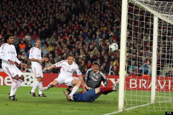 Soccer - UEFA Champions League - Quarter Final - First Leg - Barcelona v Bayern Munich - Estadio Camp Nou