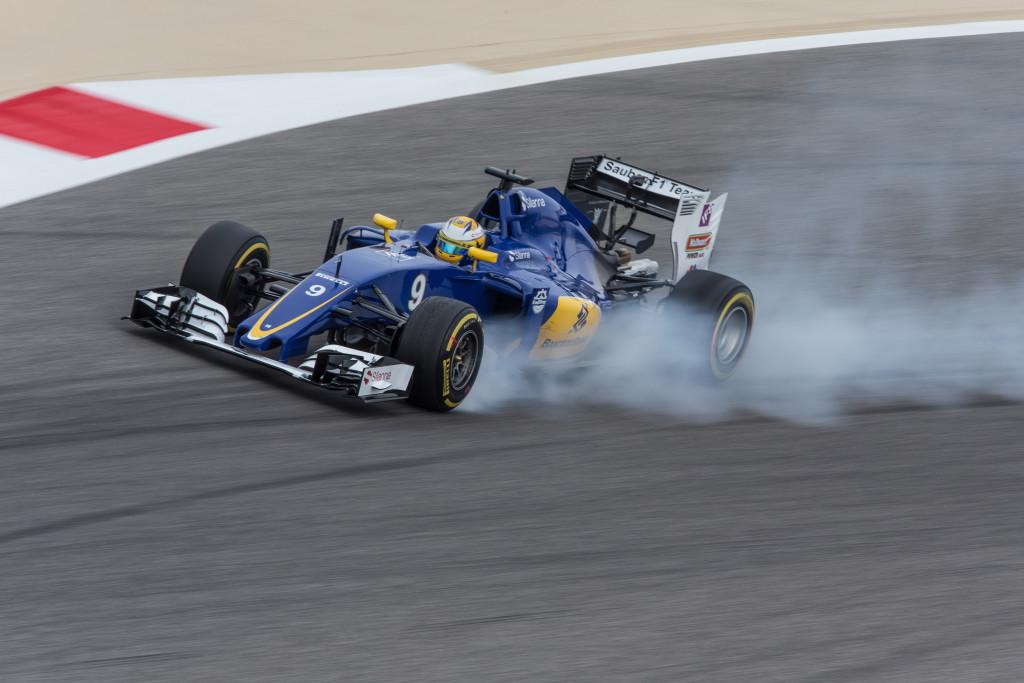 Barrichello knappar in pa button
