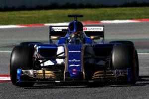 Pascal Wehrlein (D), Sauber F1 Team. Circuit de Catalunya.