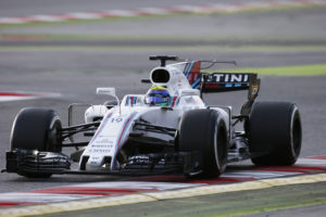 Circuit de Barcelona Catalunya, Barcelona, Spain. Tuesday 07 March 2017. Felipe Massa, Williams FW40 Mercedes. World Copyright: Sam Bloxham/LAT Images ref: Digital Image _SLB4141