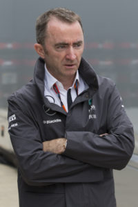 Mercedes Formula One team Executive Technical Director Paddy Lowe walks through the paddock area before the British Formula One Grand Prix meeting at Silverstone circuit, Silverstone, England, Thursday, July 2, 2015. The British Formula One Grand Prix will be held on Sunday July 5. (AP Photo/Jon Super)