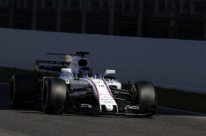 Williams driver Lance Stroll of Canada steers his car during a Formula One pre-season testing session at the Catalunya racetrack in Montmelo, outside Barcelona, Spain, Wednesday, March 1, 2017. (AP Photo/Francisco Seco)