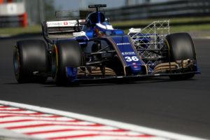 Gustav Malja (SWE) Sauber F1 Team. Hungaroring Circuit.