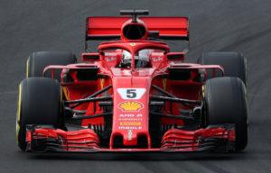 F1 Formula One - Formula One Test Session - Circuit de Barcelona-Catalunya, Montmelo, Spain - February 27, 2018 Sebastian Vettel of Ferrari during testing REUTERS/Albert Gea