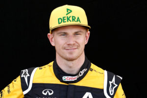 Formula One F1 - Australian Grand Prix - Melbourne Grand Prix Circuit, Melbourne, Australia - March 22, 2018 Renault's Nico Hulkenberg poses for a photo REUTERS/Brandon Malone