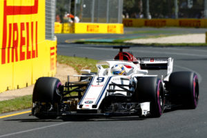 Formula One F1 - Australian Grand Prix - Melbourne Grand Prix Circuit, Melbourne, Australia - March 23, 2018 Sauber's Marcus Ericsson in action during practice REUTERS/Brandon Malone