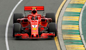 Formula One F1 - Australian Grand Prix - Melbourne Grand Prix Circuit, Melbourne, Australia - March 24, 2018 FerrariÕs Kimi Raikkonen in action during qualifying REUTERS/Brandon Malone