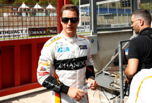 Formula One F1 - Belgian Grand Prix - Spa-Francorchamps, Stavelot, Belgium - August 23, 2018 McClaren's Stoffel Vandoorne ahead of the Belgian Grand Prix REUTERS/Francois Lenoir