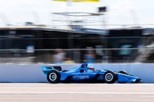 Felix Rosenqvist inför IndyCar på COTA 2019