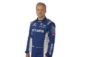 Felix Rosenqvist redo för Indy Car