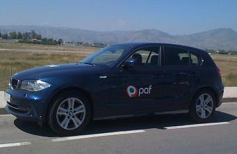 Paf-bilen i Castellon