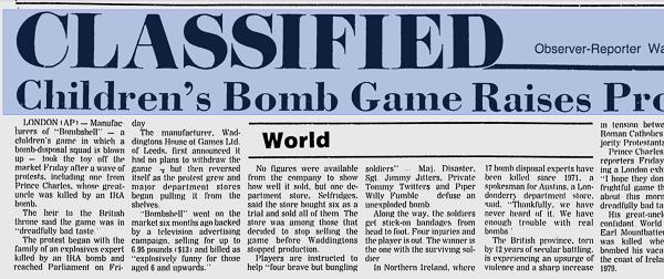 BOMBSHELL DAGSTIDNING 2