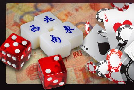 MAHJONG GENREBILD GAMBLING