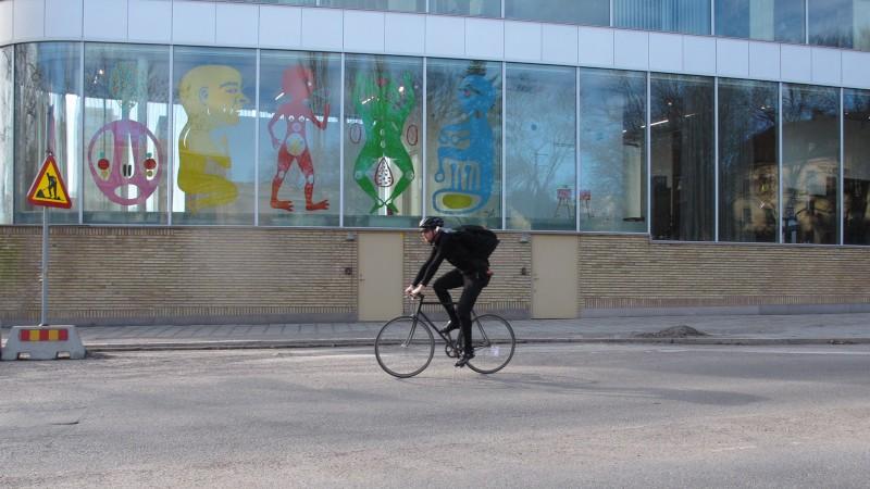 ryska posten cykelbud