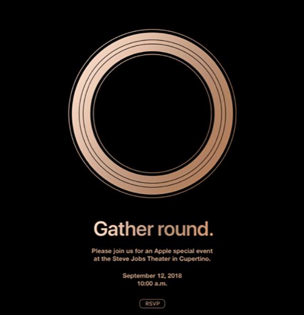 Apple Event Sep 12 2018