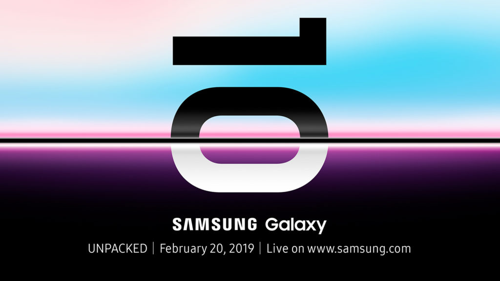 Samsung Galaxy UNPACKD 2019 Official Invitation 1920x1080