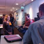 Intervjuad av tysk och norsk tv, juni 2013.