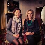 """Medverkar i tysk kunglig dokumentär """"Happy birthday Silvia!"""" när drottningen fyllde 70 år 2013. Tillsammans med producenten Julia Melchior."""
