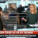 Aftonbladet, kungen 40 år på tronen, 2013.