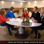 TV4 Nyhetsmorgon, 2013.