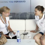 Intervju med kronprinsessan Victoria, Rio de Janeiro, 2006.
