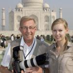 Med kronprinsessan i Indien 2008.