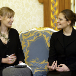 Intervju med kronprinsessan, Saudiarabien 2004.