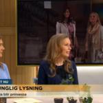 TV4:s Nyhetsmorgon i samband med prins Carl Philips lysning.