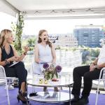 Live-sändning från Aftonbladets tak 13 juni 2015.