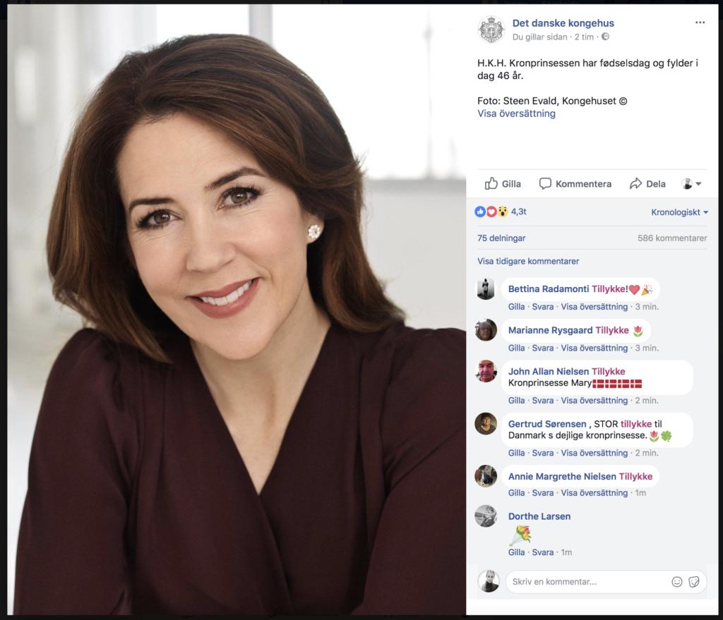 grattis på födelsedagen danska mary | Hovbloggen grattis på födelsedagen danska