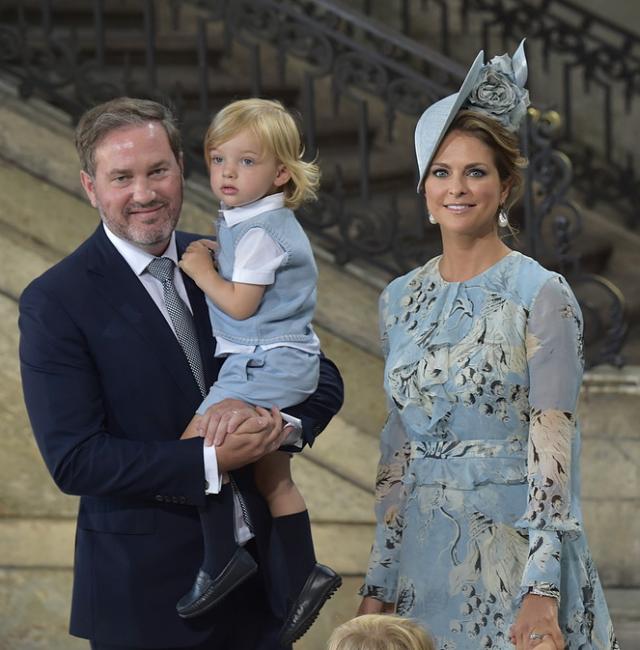 Prinsessan Madeleine och Chris har fått en dotter  c347704a6a619