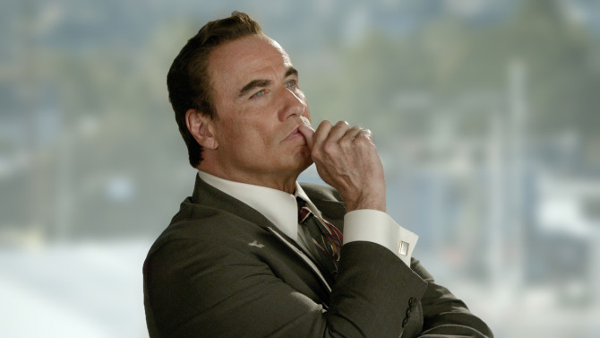 American Crime Story: The People v. O.J. Simpson Ð Pictured: John Travolta as Robert Shapiro. CR: FX, Fox 21 TVS, FXP Premieres on FX, early 2016