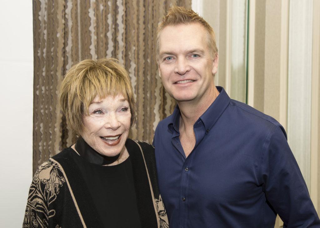 Sundholm och Shirley MacLaine
