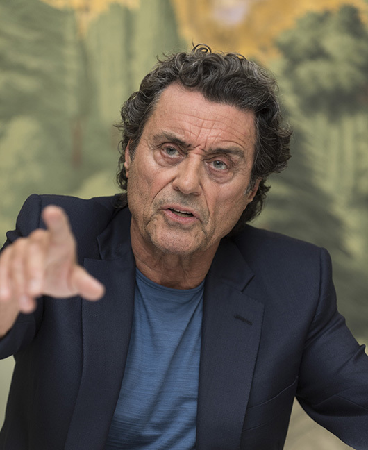 Ian McShane, who stars in 'American Gods', at the London Hotel in New York, NY. Photo: Magnus Sundholm