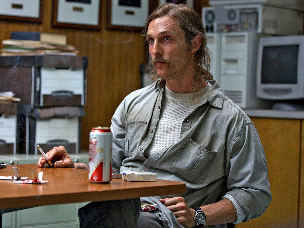 "True Detective Ep 5, ""Secret Fate of All Life"" Matthew McConaughey"