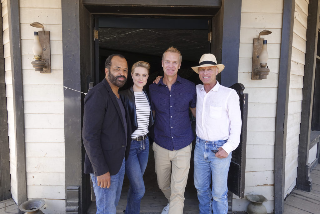 Westworld set visit. Photo: Magnus Sundholm for the HFPA.