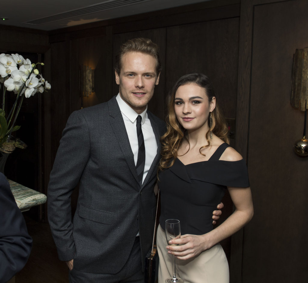 Sam Heughan and Sophie Skelton. Photo: Magnus Sundholm