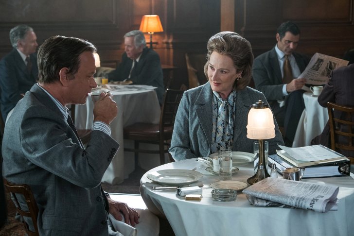 tom hanks and meryl streep in The Post Niko Tavernise/twentieth century fox