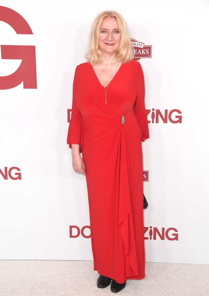 WESTWOOD, CA - DECEMBER 18: Margareta Pettersson attends the Los Angeles Special Screening of 'Downsizing' at The Regency Village Theatre on December 18, 2017 in.Westwood, CA. (Photo by Frazer Harrison/Getty Images for Paramount Pictures) *** Local Caption *** Margareta Pettersson
