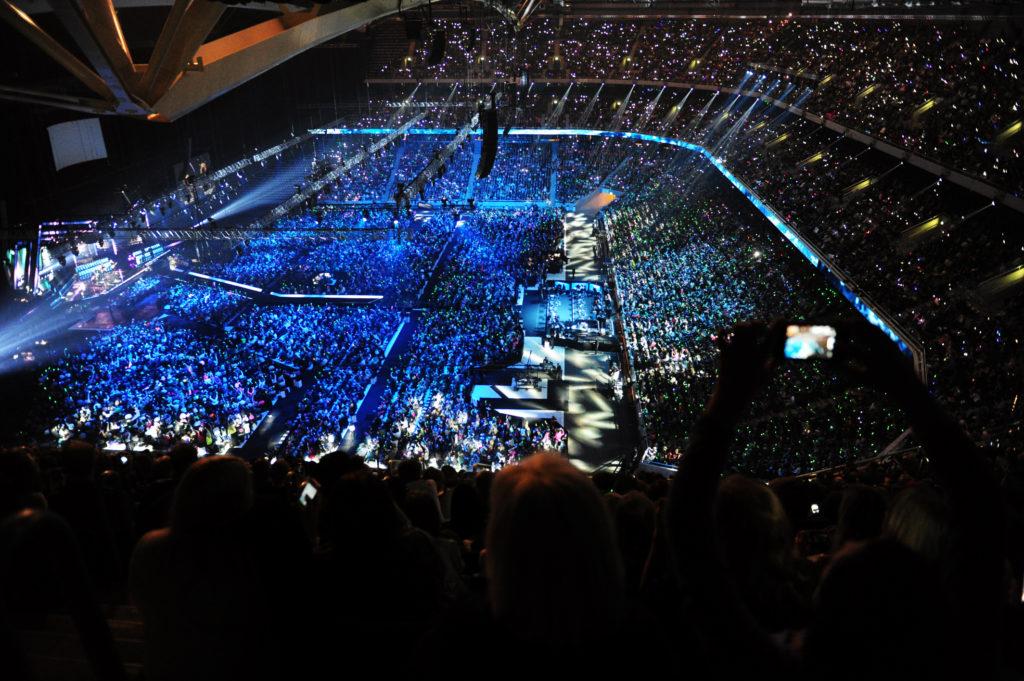 Friends Arena under Melodifestivalen Foto: Pontus Orre