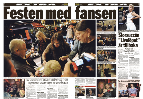 Nöjesbladet den 1 juni 2011.